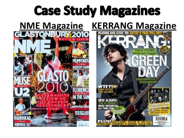 NME Magazine KERRANG Magazine