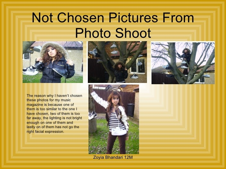 media studies coursework Equipment list canon 600 dslr camera: this is so that you get high quality pictures as you take your shot of the model for your front cover sd card: this is so that when you take these pictures they are able to save on the camera.