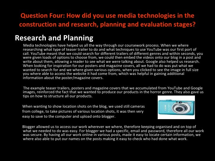 as media coursework evaluation blog Year 13 – ancillary tasks and evaluation questions: posted on 11/01/2018 in case you have got to the point where you can begin this ancillary task sheet: a2 coursework ancillary texts planning music (revised 0115) digipak6p evaluation sheet: evaluation task list this entry was posted in a2, a2 coursework, music.