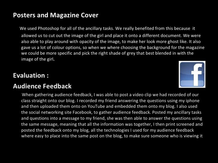 photography coursework evaluation