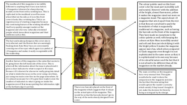 as media coursework magazine Media studies coursework 1 1 media studies foundation coursework 2 magazine analysis at the start of making my magazine before all the production work i.