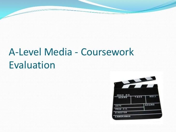 Media studies production coursework evaluation