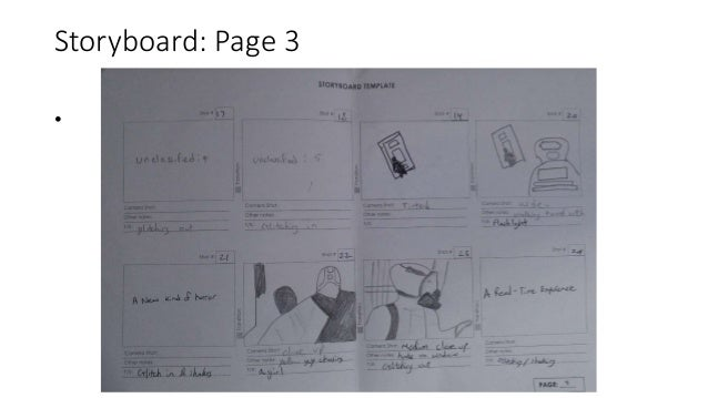 Storyboard: Page 3 •