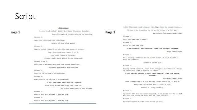 Script Page 1 Page 2