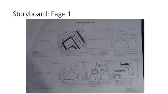 Storyboard: Page 1