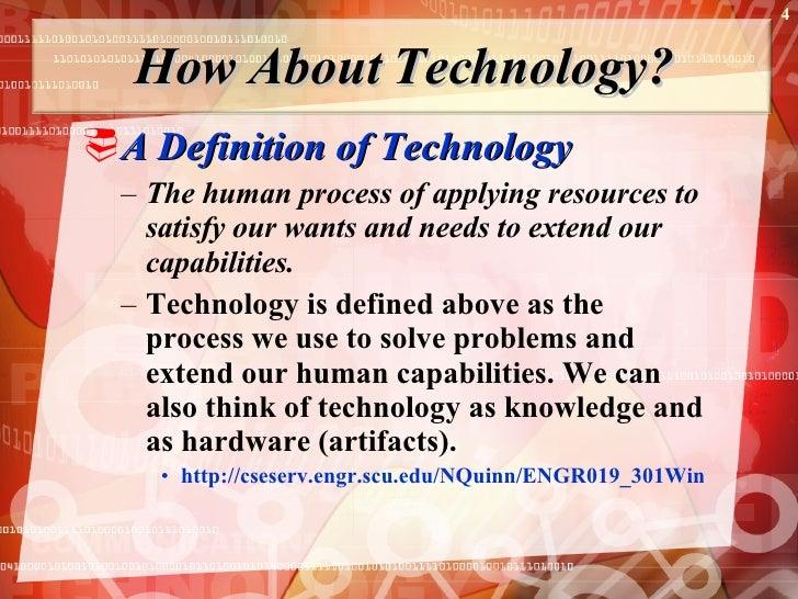 technology management definition presentation