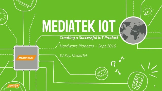 Creating a successful IoT product with MediaTek Labs