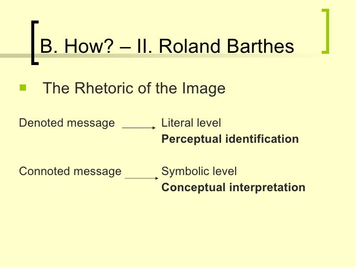roland barthes the photographic message essay Roland barthes 'the photographic message' i am looking for an easy to read summary or overview of the essay by roland barthes called 'the photographic message' any personal overviews or links would be great thanks.