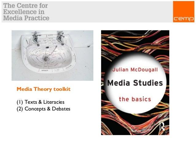 Media Theory toolkit (1) Texts & Literacies (2) Concepts & Debates