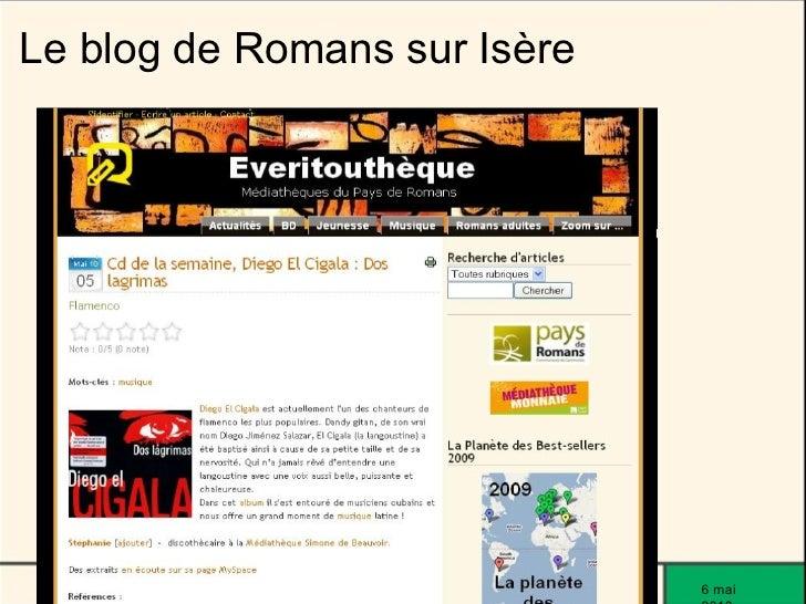 Le blog de Romans sur Isère                                   6 mai