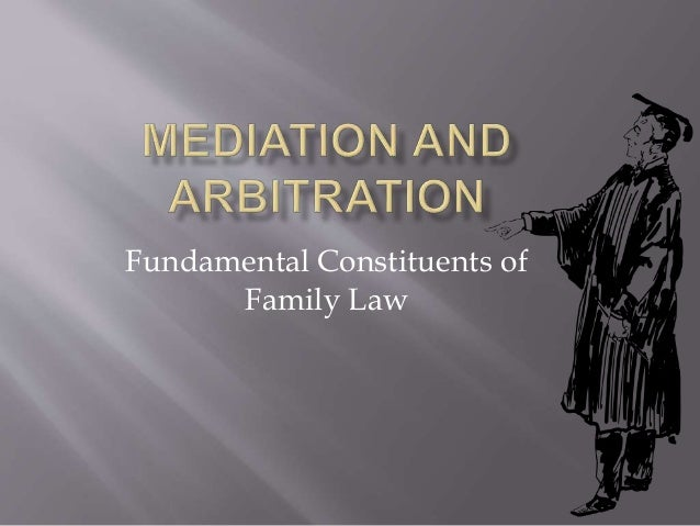Fundamental Constituents of Family Law