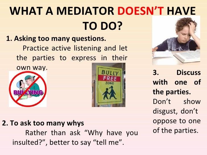 Projekt Peer Mediation