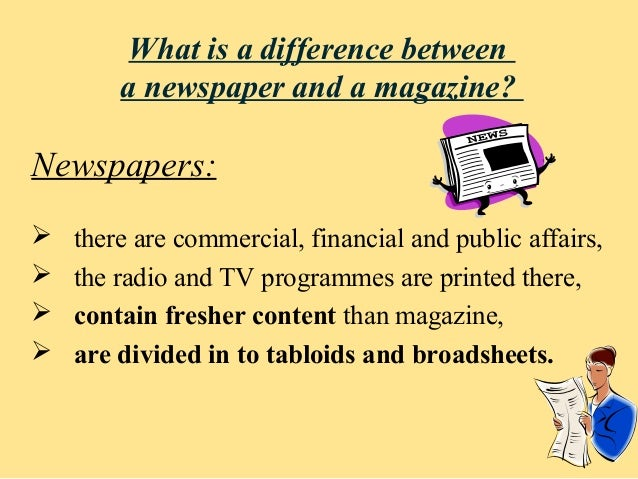 comparison between tv news and newspaper news Broadcast news vs newspapers: who better informs the (local news) section — were the obvious difference between the inquirer and fox29's fumo.