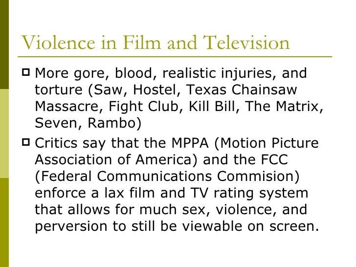 Media violence.