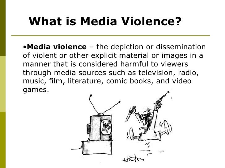 media violence statistics