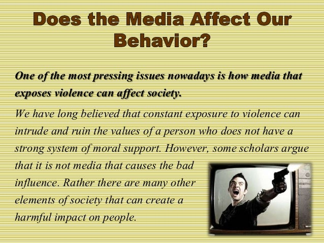 How Media Influences Antisocial Behavior