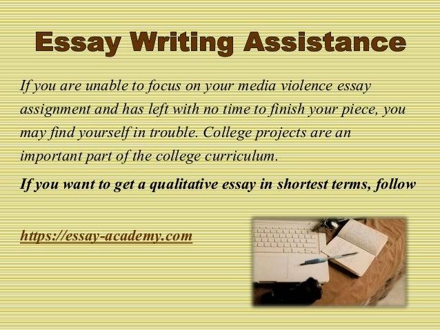 Essays On Media  Romefontanacountryinncom Media Violence Essays Media Violence Essay Essay Now Admission Paper