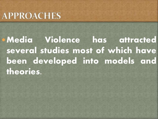 An analysis of the issue of violence in movies and aggression in society