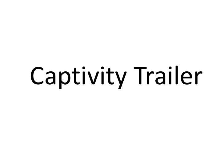 Captivity Trailer