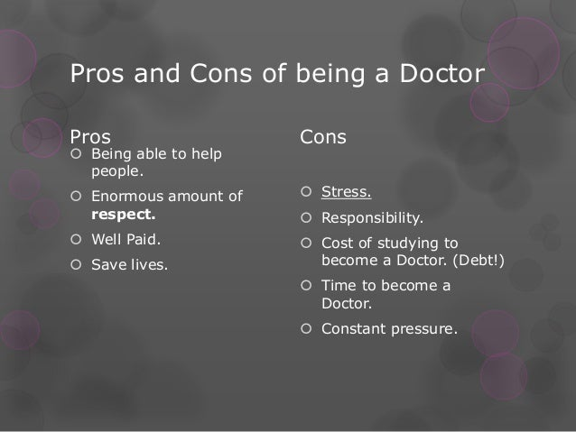 Hookup A Doctor Pros And Cons