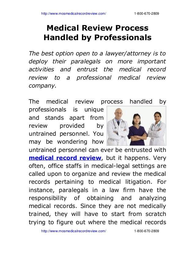 http://www.mosmedicalrecordreview.com/18006702809 Medical Review Process Hand...