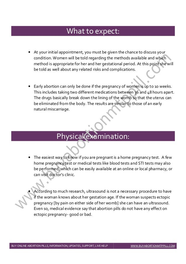Medical Abortion User Guide