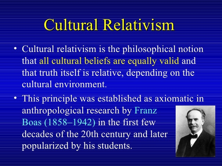 narrative based medicine as a cultural relativism in