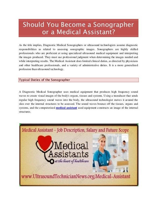 Medical Assistant – Job Description, Salary and Future Scope