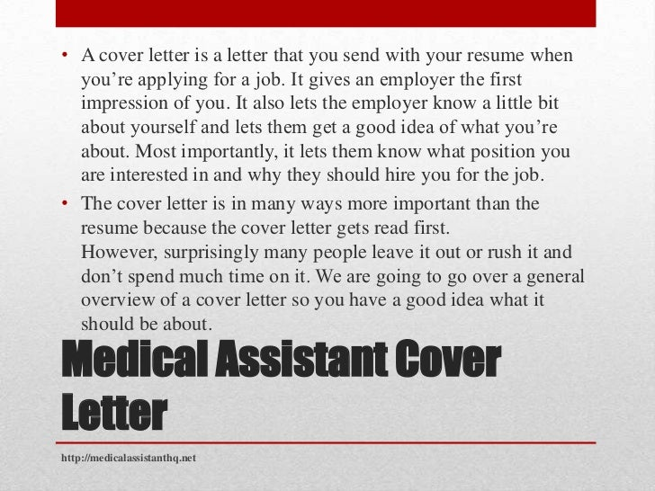 medical assistant cover letter brought to you by medical assistant hqhttpmedicalassistanthqnet 2