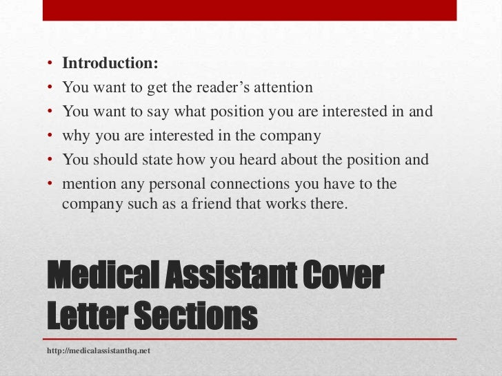 cover letter medical assistant assistant cover letter 21134 | medical assistant cover letter 7 728