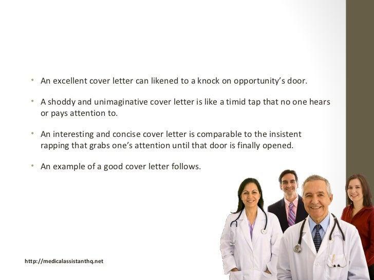 medical assistant programs cover letter examples