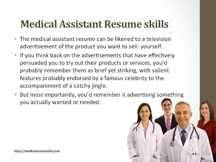 medical assistant skills resume