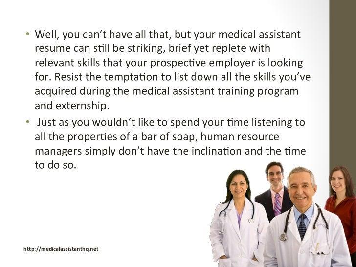 skills of a medical assistant