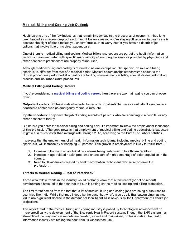Medical Billing Andcodingjoboutlook