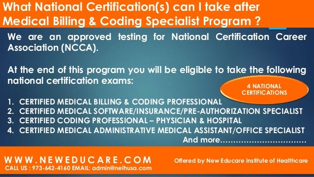Medical billing and coding program ppt editable