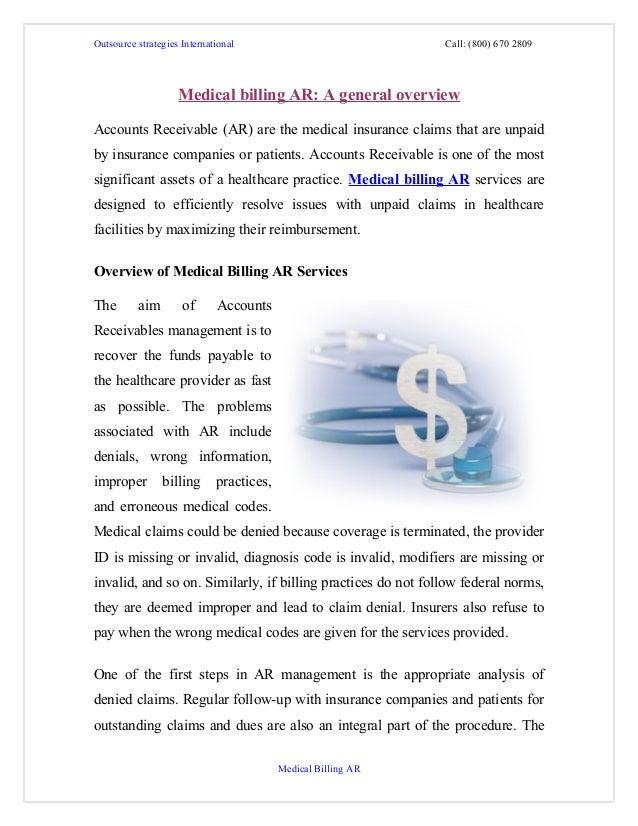 Outsource strategies International                             Call: (800) 670 2809                    Medical billing AR:...