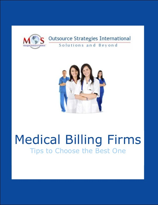Medical Billing Firms Tips to Choose the Best One