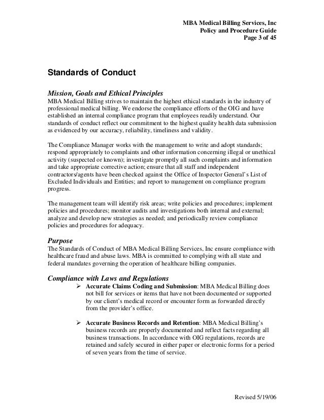 Medical Chart Review Policy: Medical billing policy procedure guide,Chart