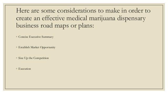 A Sample Medical Marijuana Dispensary Business Plan Template