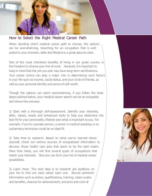Medical Careers List >> Medical Careers