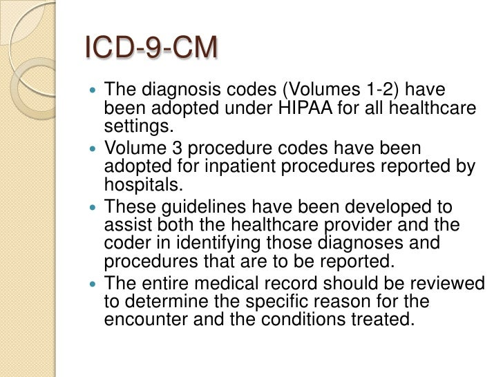 cpt codes hcppc codes and idc 9 codes used in a inpatients hospital setting Ambulatory payment classification codes prospective payment system for hospital inpatients known as icd-10-pcs procedure codes cpt codes cpt code.