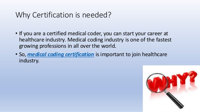 coding certification medical course