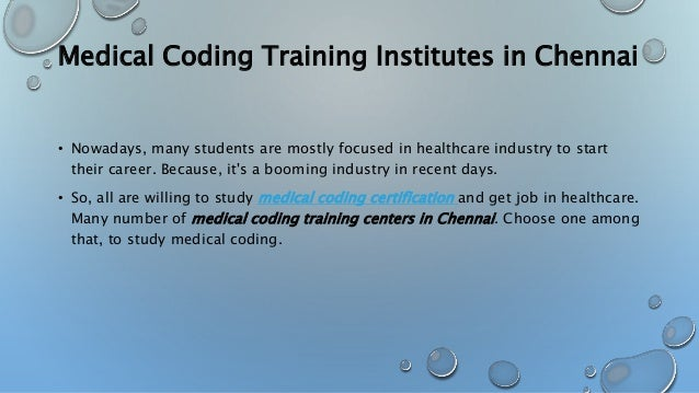 Medical Coding Training Institutes In Chennai Hbay Healthcare