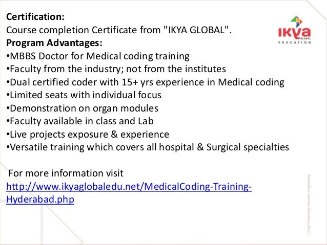 Medical coding training with 100% placement assistance