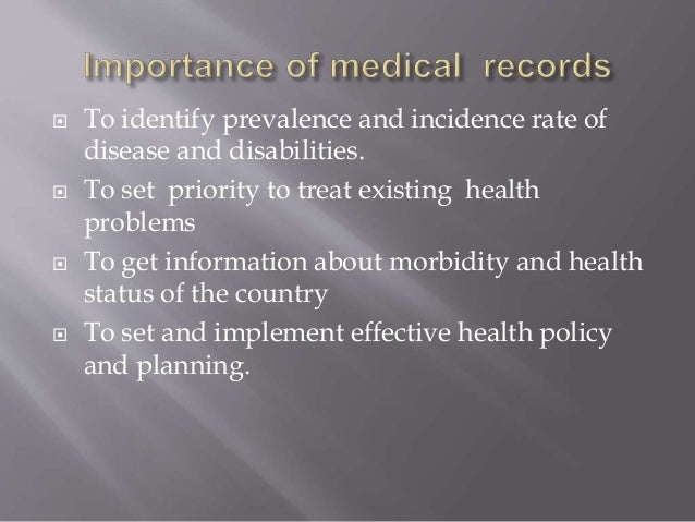  To identify prevalence and incidence rate of disease and disabilities.  To set priority to treat existing health proble...