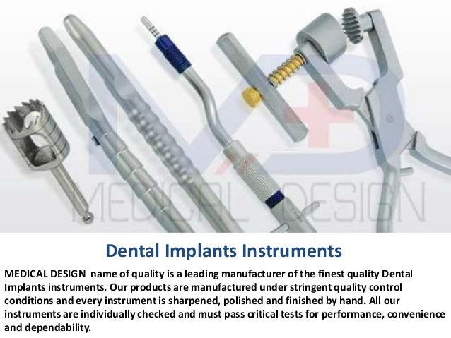 Dental Implants Instruments MEDICAL DESIGN Name