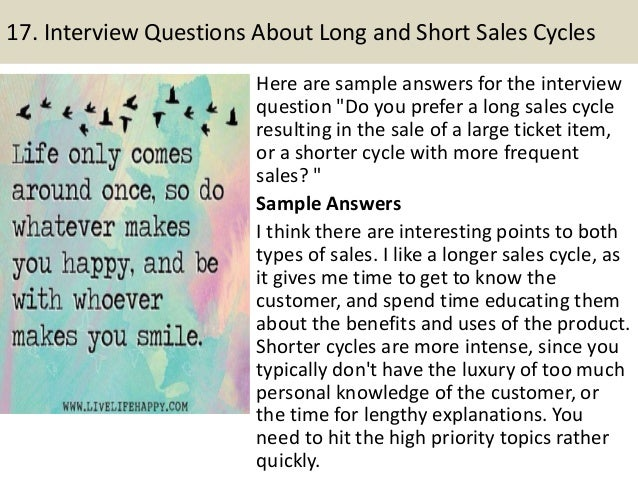 medical device sales interview questions and answers