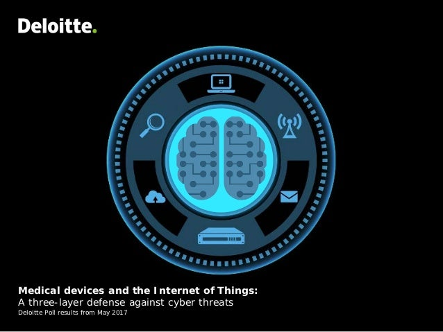 Medical devices and the Internet of Things: A three-layer defense against cyber threats Deloitte Poll results from May 2017