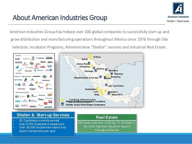 Medical devices industry in mexico a cost competitive strategy