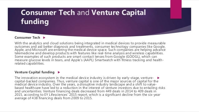 Medical devices technology industry overview example